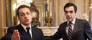 Nicolas Sarkozy and François Fillon in January, 2008 at l'Elysée (Photo: Pool New / Reuters)