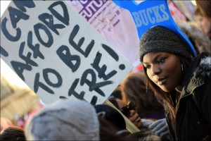 Massive student demo in London called by the NUS expresses anger against cuts (Photo: T.U. Senan)