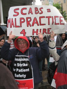 Philadelphia nurses' strike (Photo: phillyimc.org)