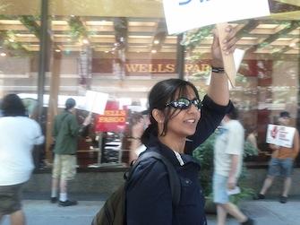 Kshama_Sawant_Protesting_Wells_Fargo