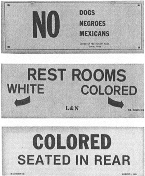 the changes concerning racial segregation in the united states during 1960s The civil rights movement: 1919-1960s power between employers and workers in the united states force for whatever incomplete change occurred during.