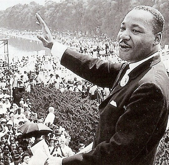 an introduction to the analysis of martin luther kings ideology Example of a rhetorical analysis essay i have a dream on the steps of lincoln memorial on august 28, 1963, martin luther king jr.