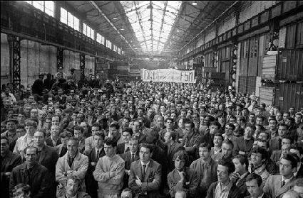 Historic general strike in France, May 1968