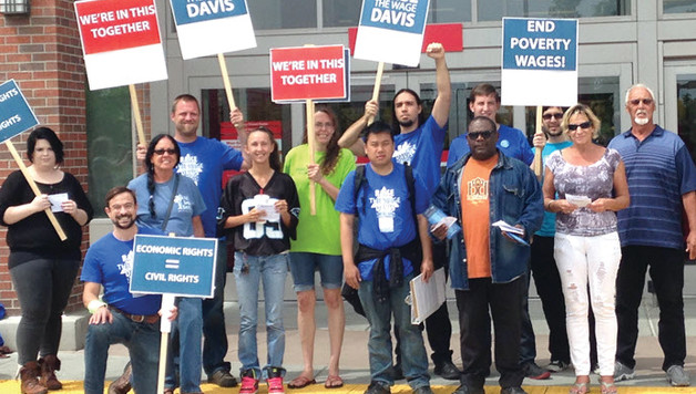 15 Now rally in Davis, California