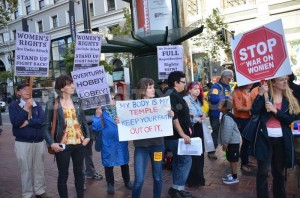 Protest in San Francisco (Photo: Steve Rhodes)