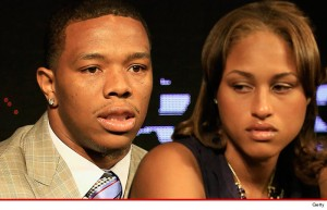 Ray Rice and Janay Palmer (Photo: Getty Images)