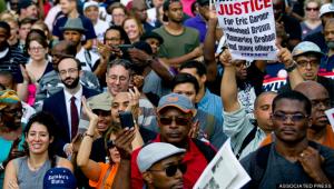 Protests Erupt over Garner Decision