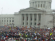 Wisconsin Protests 2011 - By Justin Ormont CC3.0 Share License