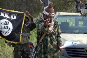 A video from October shows Abubakar Shekau, the leader of Nigerian Islamist extremist group Boko Haram.  (Photo: AFP / Getty Images)