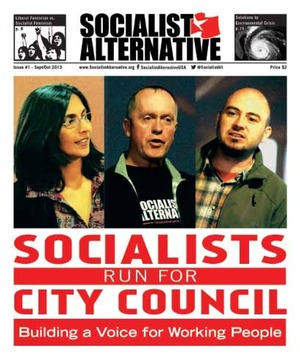 Socialist Alternative Issue #1