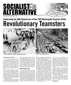 Socialist Alternative Issue #5 - Teamster Rebellion Supplement