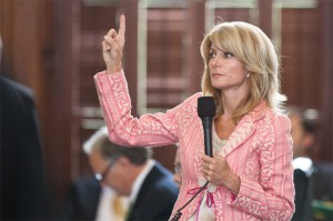 Senator Wendy Davis (D) (Photo: Marjorie Kamys Cotera for the Texas Tribune