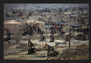 Fracking wells in Bakersfield, CA