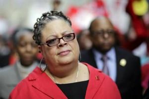 Karen Lewis (Photo: John Gress / Reuters / File Photo)