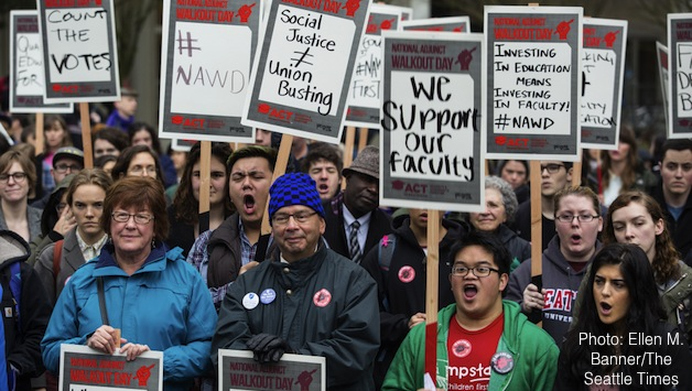 Seattle University Adjunct Professors Fight For A Union Socialist Alternative