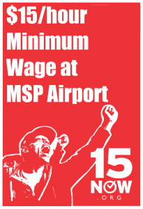 $15/hour Minimum Wage at MSP Airport