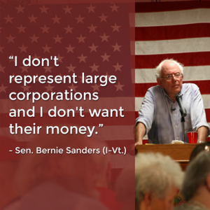 Bernie-Sanders-doesnt-want-corporate-money