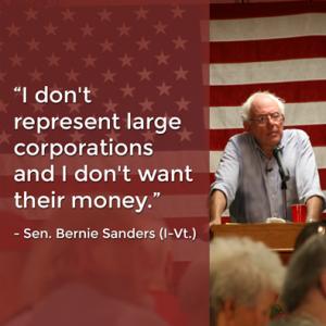 Bernie-Sanders-doesnt-want-corporate-money