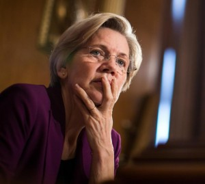 Senator Elizabeth Warren at a Senate committee hearing in 2013.(Photo: Getty Images / File)