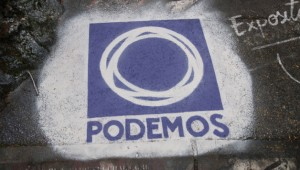 Podemos logo (Photo: Etienne Perrone / Resized and cropped / CC 4.0)