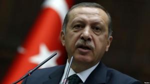 Turkish Prime Minister Recep Tayyip Erdogan in a session of parliament in Ankara on June 25. (Photo: Reuters / Umit Bektas)