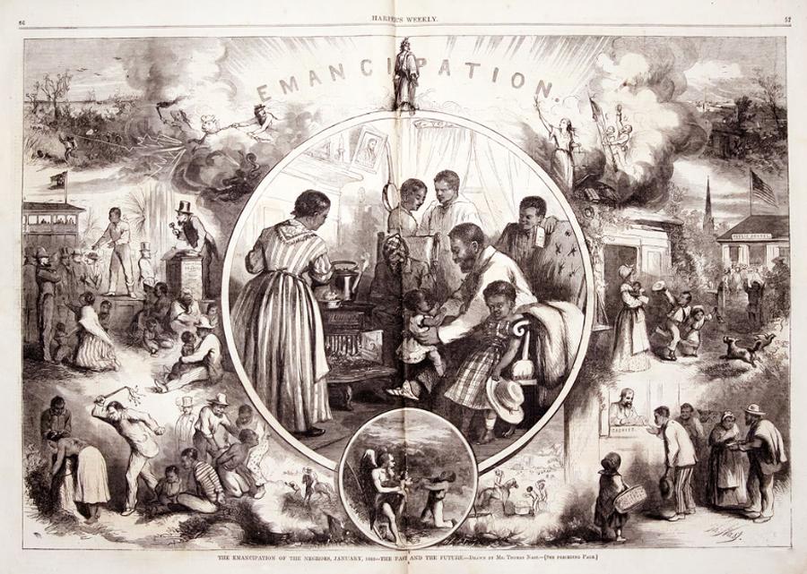 Negocio del esclavismo  a lo largo  de la historia  Emancipation2
