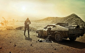 The barren landscape of the post-apocalyptic world of Mad Max (Image: Warner Bros. / Village Roadshow Pictures)