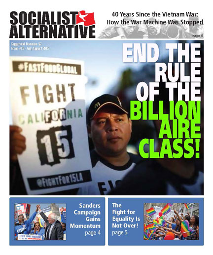 Socialist Alternative Issue #15
