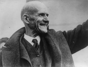 Eugene Debs ran for president with the Socialist Party of America several times in the early 20th century (Photo: public domain)