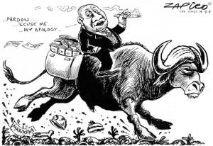 Cartoon by Alfonso Zapico