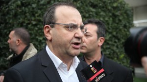 "Coordinator of SYRIZA's Committee on Working Policy, Dimitris Stratoulis, insisted in February that the thessaloniki (Salonica) Programme would be insituted, saying: ""There are solutions that are preferable to the continuation of austerity, which destroys the country and society."" (translation) (Photo: parapolitika.gr)"