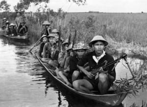 Việt Cộng guerrillas, 1966 (Image: Public domain)