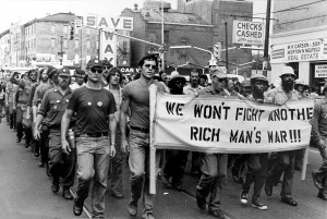 Philadelphia protest against the Vietnam War (Photograph courtesy of Julia Ryan)