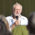 Jeremy Corbyn speaking at the 2015 Tolpuddle Martyrs' Festival and Rally