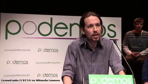 Pablo Iglesias Turrión during a Podemos Presentation, January 16, 2014, Madrid, Spain