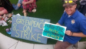 greenpeace strike