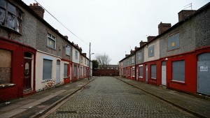 Boarded-up houses in Kensington, Liverpool, in northern England (Photo: Reuters / Phil Noble)