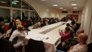 Mass emergency local meeting called by RS members in response to attack