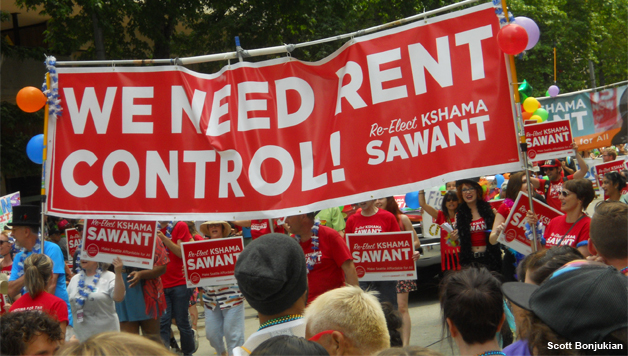 Rent Control Protest