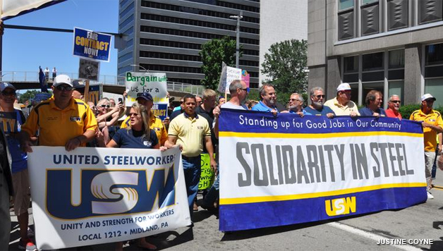 USW Picket