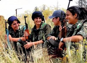 Kurdish YPG fighters. Photo: https://www.flickr.com/photos/kurdishstruggle/15338345990