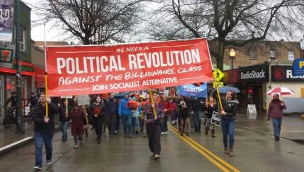 MarchForBernie Seattle