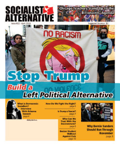 Socialist Alternative Newspaper Issue #22 Cover