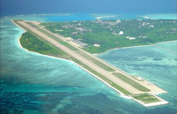 Airstrip on Chinese controlled Yongxing (Woody Island) in the Paracels.