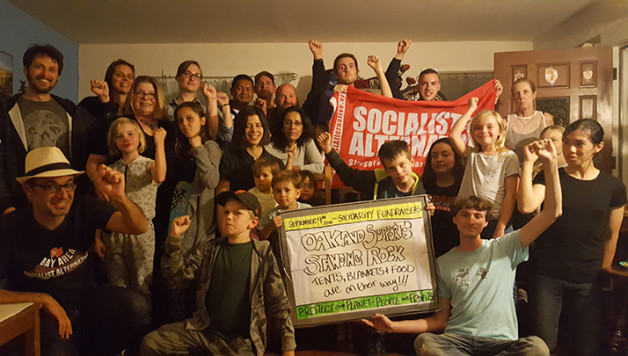 Oakland solidarity with Standing Rock