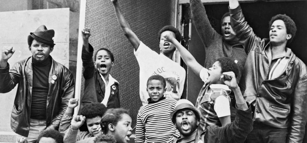 a look at the black panther partys fight against racism in america The black panther party 4 revolutionary culture in america the film discussion guide the black panthers extreme racism toward the black community by law.