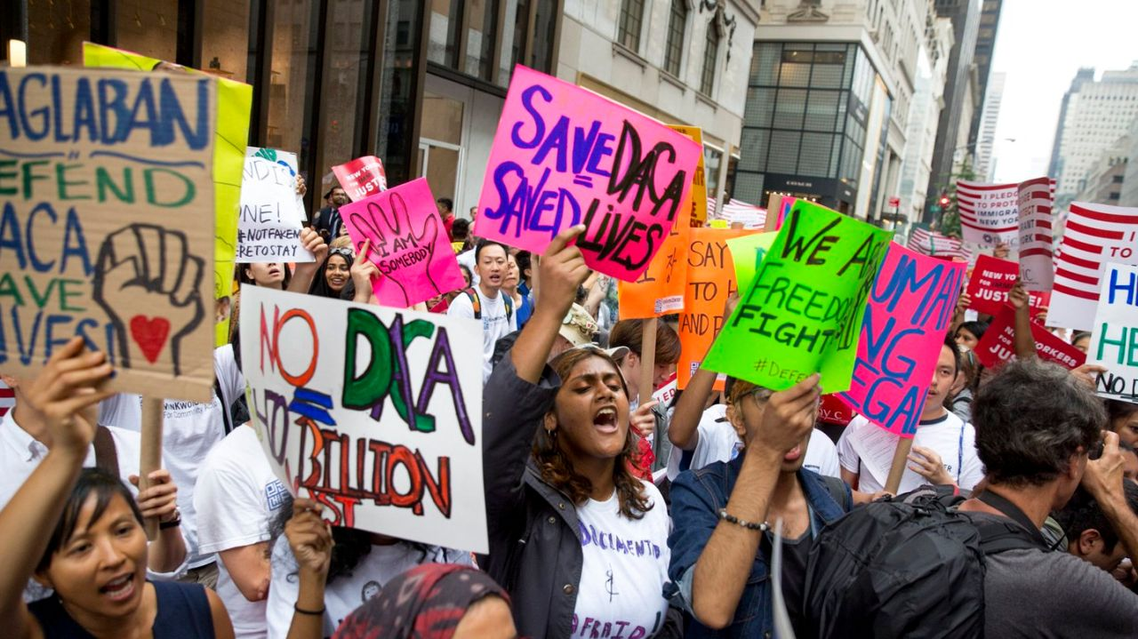 Image result for photos of daca protests