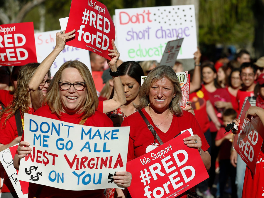 Image result for Women of #RedForEd