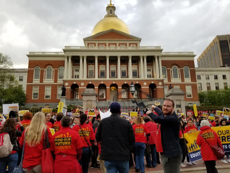 Author Of Fight For Best Charter Public >> Massachusetts Teachers Fight For Fully Funded Public Schools