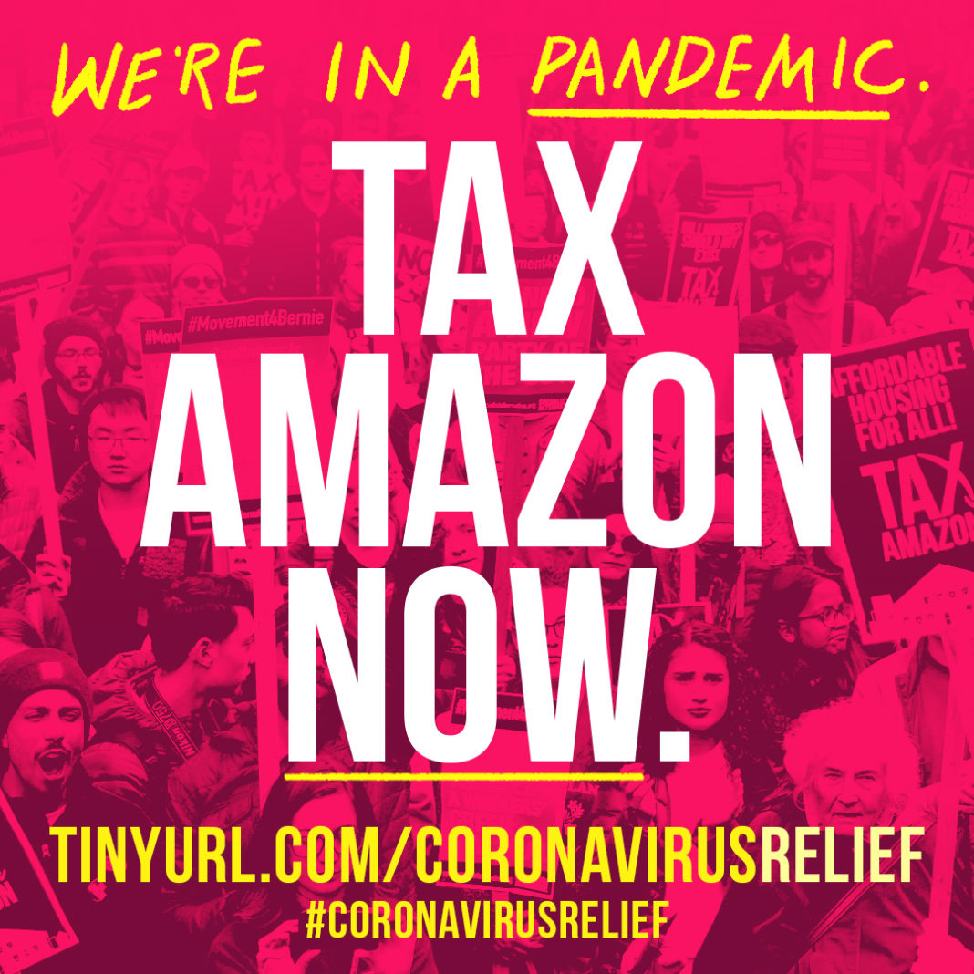 Tax Amazon: Big Business Needs To Pay For The Failures Of